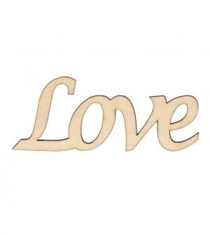 Επιγραφή love 10x4x0,3εκ.