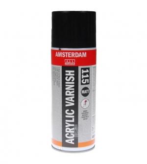 Talens amsterdam σπρέυ acrylic varnish matt 115
