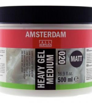 Talens heavy gel medium Matt 500ml