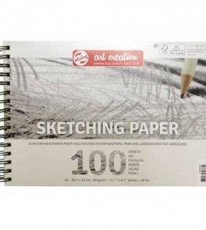 Μπλοκ σχεδίου Art Creation Paper A4