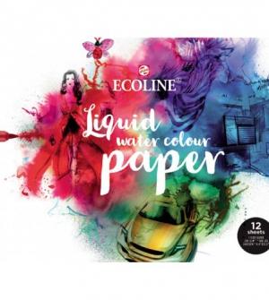 Μπλοκ ecoline print paper Α4 150gr 75Φ για σάρωση εικόνας και βαφή