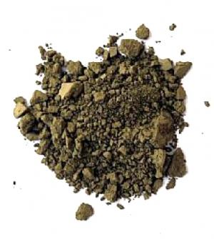 Σκόνη αγιογραφίας όμπρα πράσινη 110gr Buonarroti