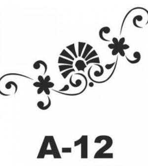 Στένσιλ 20x20 A-12 Artebella