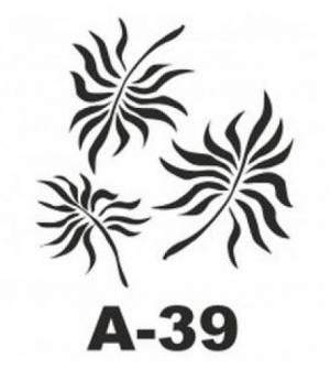 Στένσιλ 20x20 A-39 Artebella