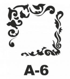 Στένσιλ 20x20 A-6 Artebella