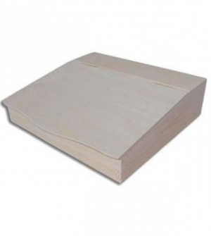 Ξύλινο κουτί γραφείου 27x27,5x7,8