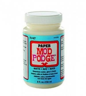 Κόλλα-βερνίκι Mod Podge acid free matt 236ml