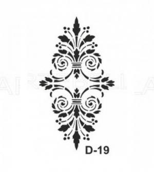 Στένσιλ 20x30 D-19 Artebella