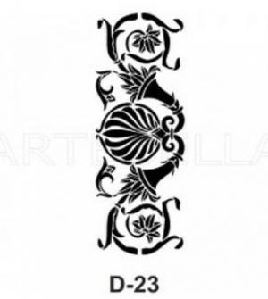 Στένσιλ 20x30 D-23 Artebella