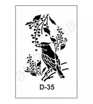 Στένσιλ 20x30 D-35 Artebella