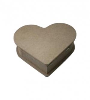 Ξύλινη καρδιά mdf 15x15x6