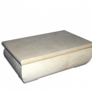 Ξύλινο κυλινδρικό κουτί 24,5x19,5x6