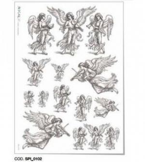 Ριζόχαρτο 32x45 Άγγελοι
