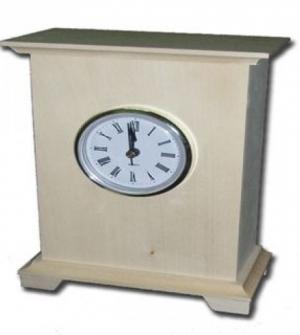Ξύλινο ρολόι 13.5x7.2x18.8
