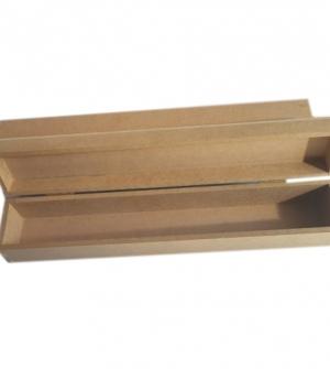 Ξύλινο λαμπαδόκουτο μικρό 35x6x6